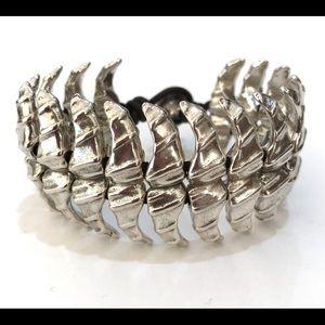 UNOde50 Dancer Cloud Silver Flexible Bracelet